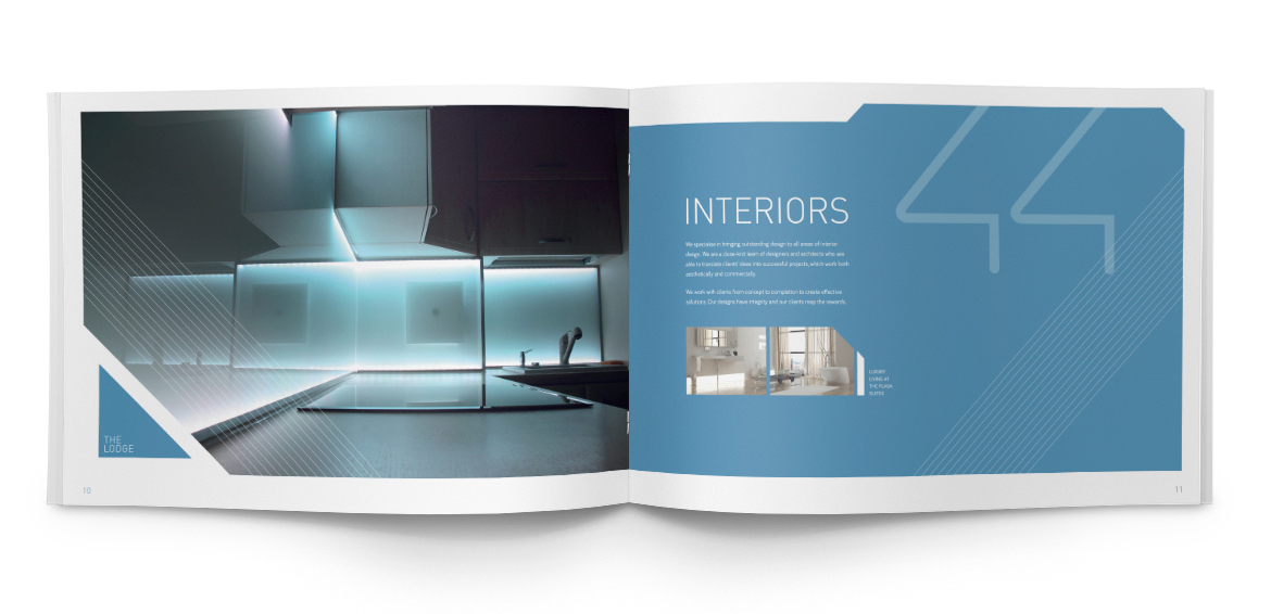 We design brochures for Architects