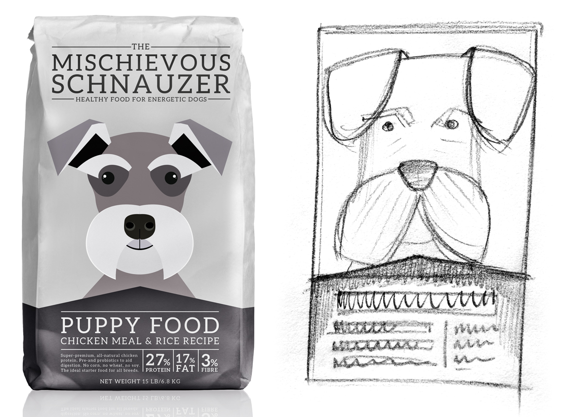 Dog Food Branding And Packaging