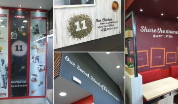 Store design KFC Banner Graphics