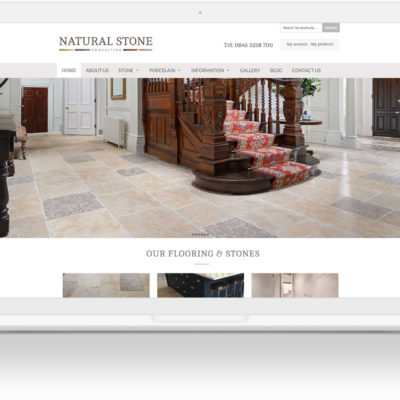 Natural Stone Consulting WordPress Website