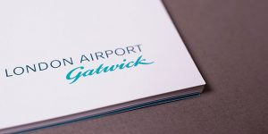 Graphic design for Gatwick