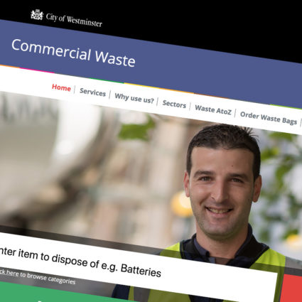 Westminster Clean Streets Website